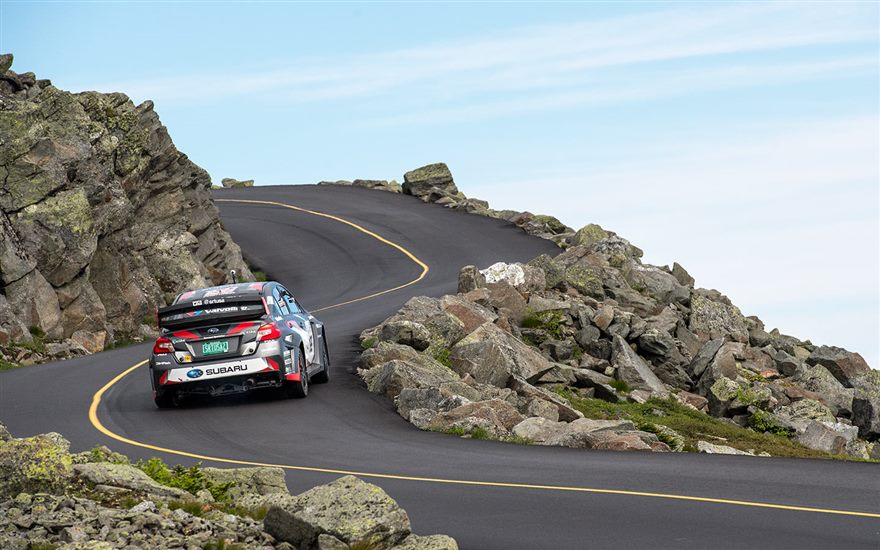 Subaru Mt. Washington Hillclimb kicks off with #199 Fastest in Upper-Half Practice