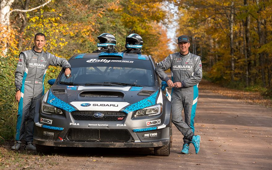 Subaru Closes 2016 Season with 1-2 Finish at Lake Superior Performance Rally