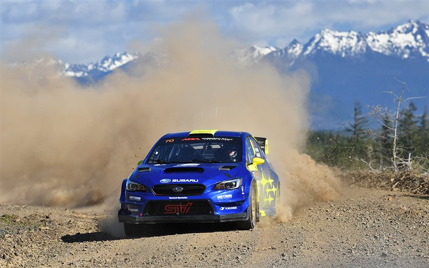 Seventeen-Year-Old Oliver Solberg Earns First U.S. Victory at Olympus Rally