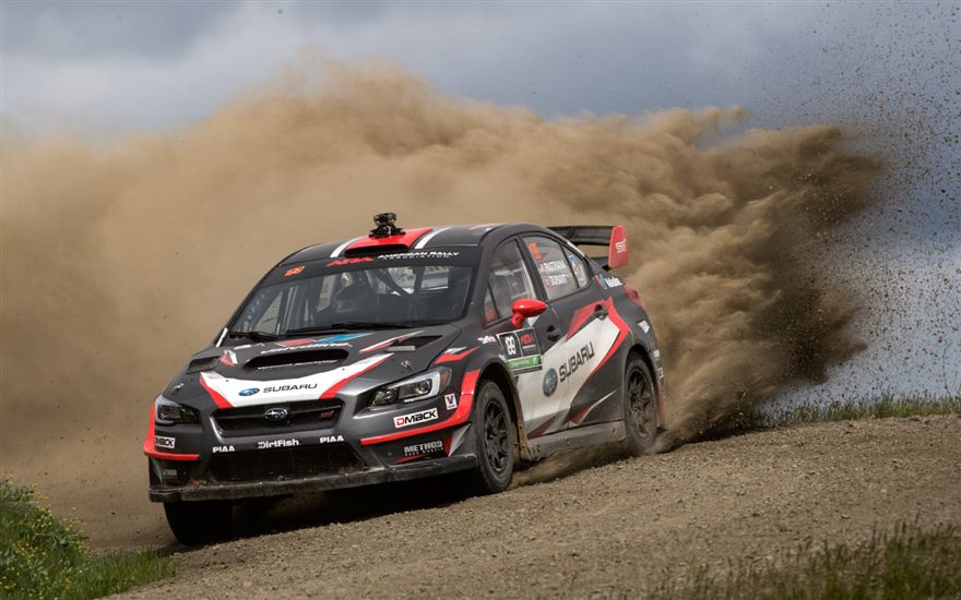 Travis Pastrana and Robbie Durant Victorious at Oregon Trail Rally