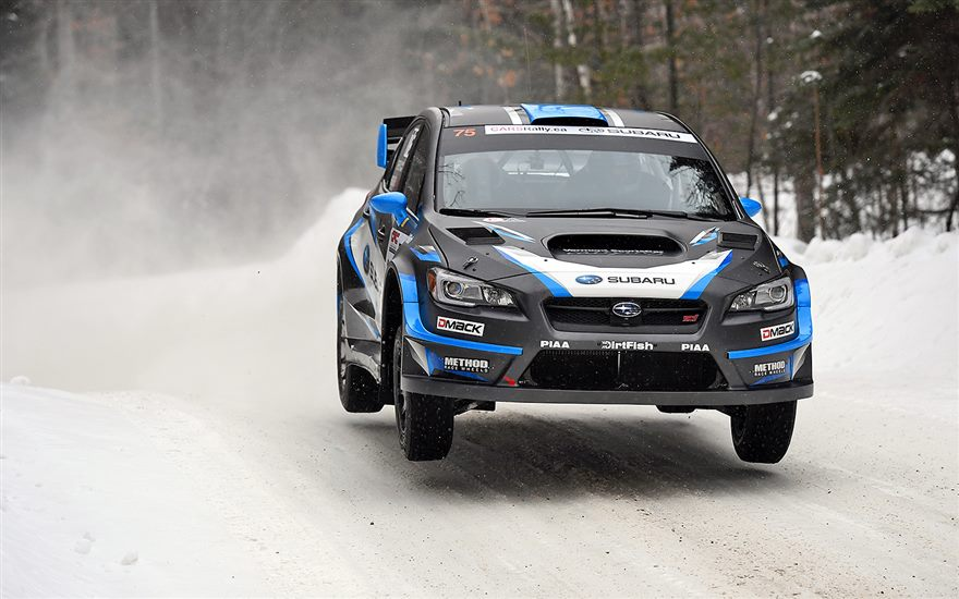 Victory for Subaru Rally Team USA at Inaugural American Rally Association Championship Event Rallye Perce-Neige