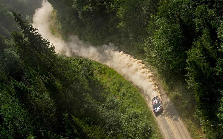 SRTUSA#199 Narrowly Wins at the New England Forest Rally
