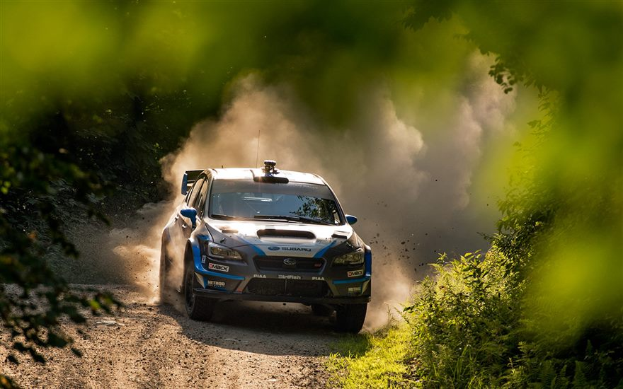 SRTUSA 1-2 at New England Forest Rally