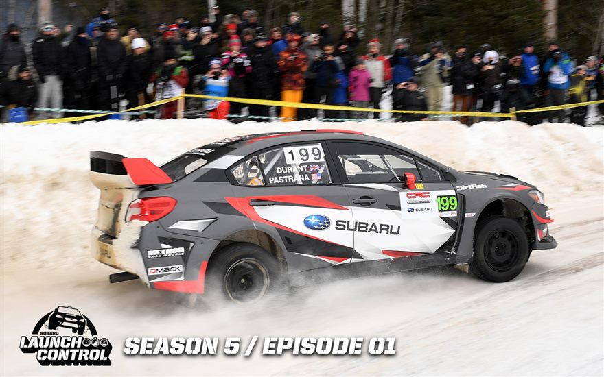 Launch Control – Rally Perce Neige / Sandell in Sweden - Season 5, Episode 1