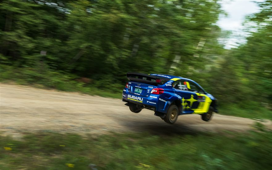 Subaru Takes First Win and Scores Double Podium at Ojibwe Forests Rally