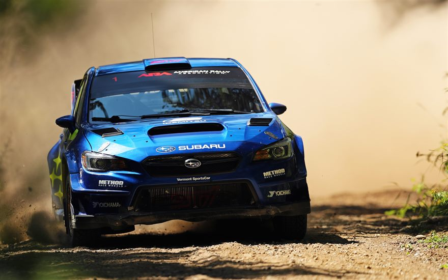 Subaru Takes Double Podium at Ojibwe Rally as David Higgins Extends Championship Lead