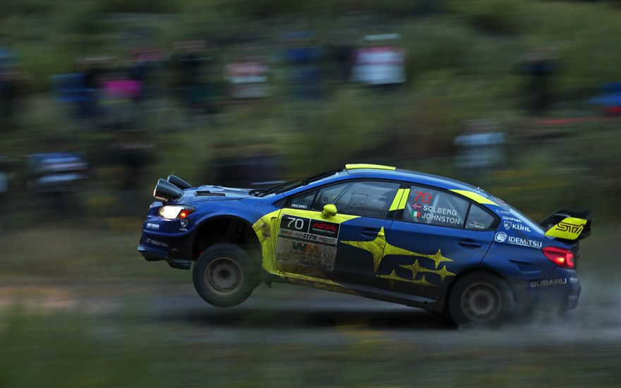 Seventeen-Year-Old Subaru Driver Oliver Solberg Secures Second U.S. Win at Susquehannnock Trail Rally