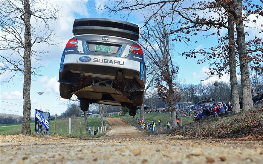 Subaru Confirms Higgins and Pastrana for 2017 Factory Rally Program