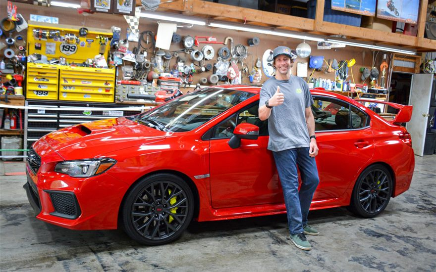 Subaru Motorsports USA Driver Travis Pastrana Will Star in the 2020 Installment of the Gymkhana Video Series with Subaru to Provide the Hero Vehicle