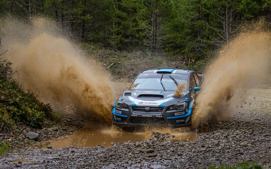 Higgins and Drew Victorious at 2017 Olympus Rally