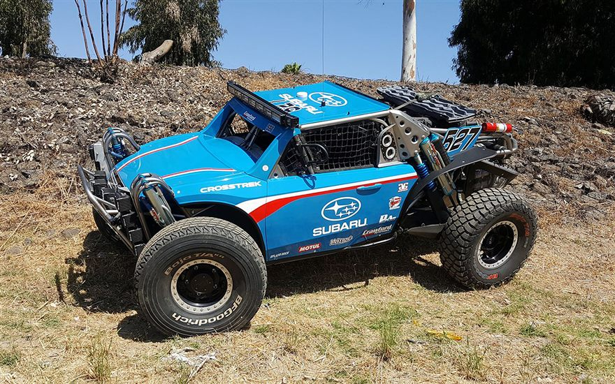 The Subaru Crosstrek Enters the Baja 500 with Grabowski Brothers Racing and Crawford Performance.