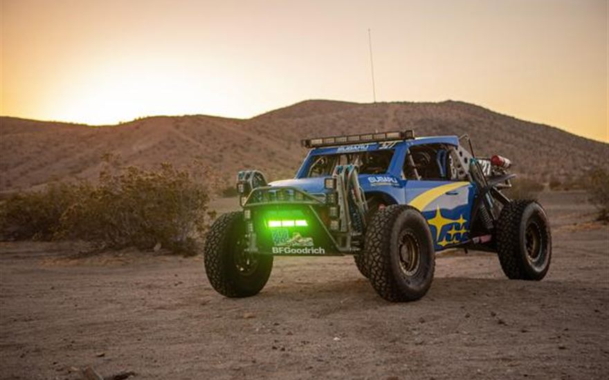 Subaru Crosstrek Desert Racer Returns to Baja 500 – In Blue and Gold