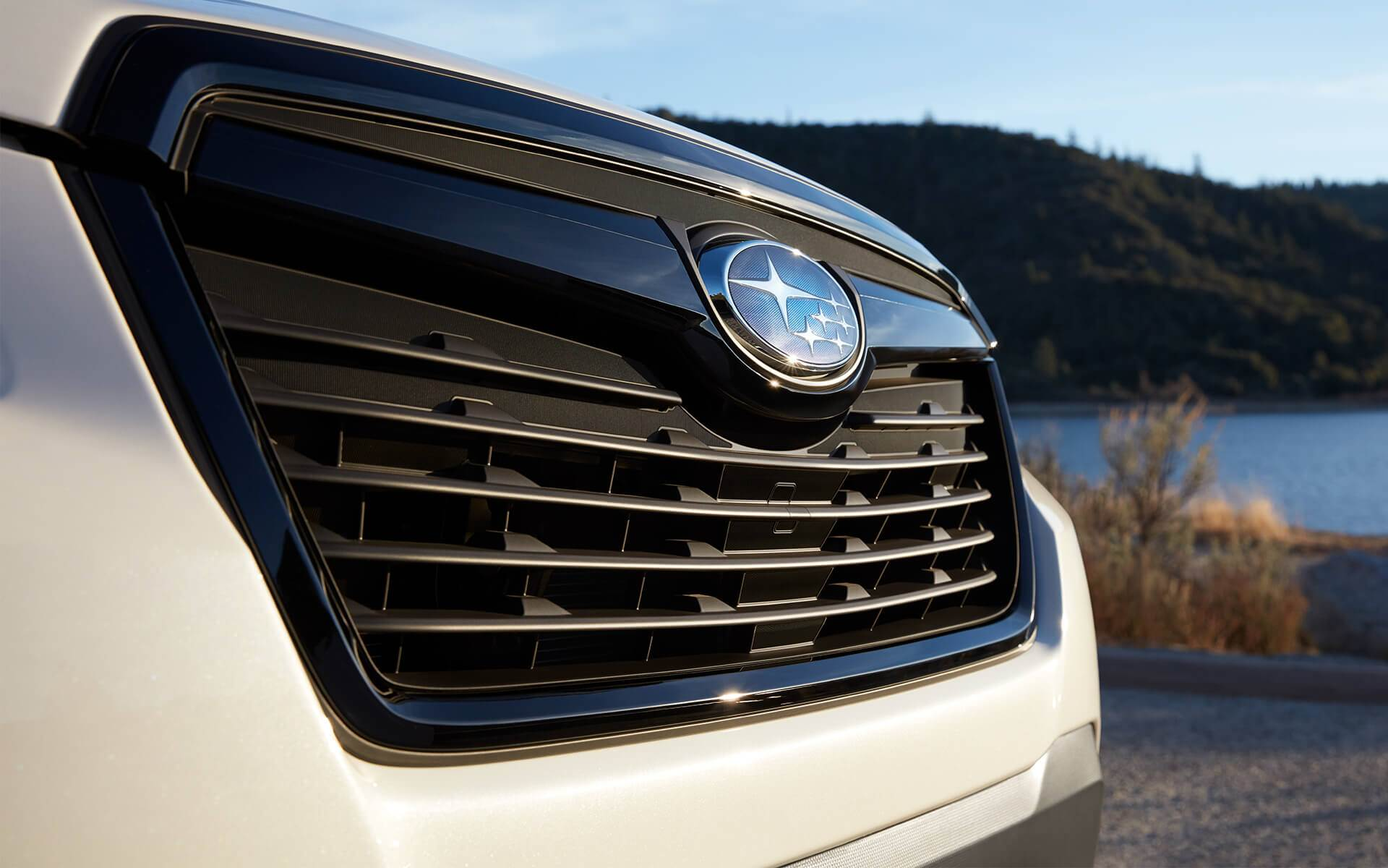 Subaru Image: Sport grille with gloss black accents