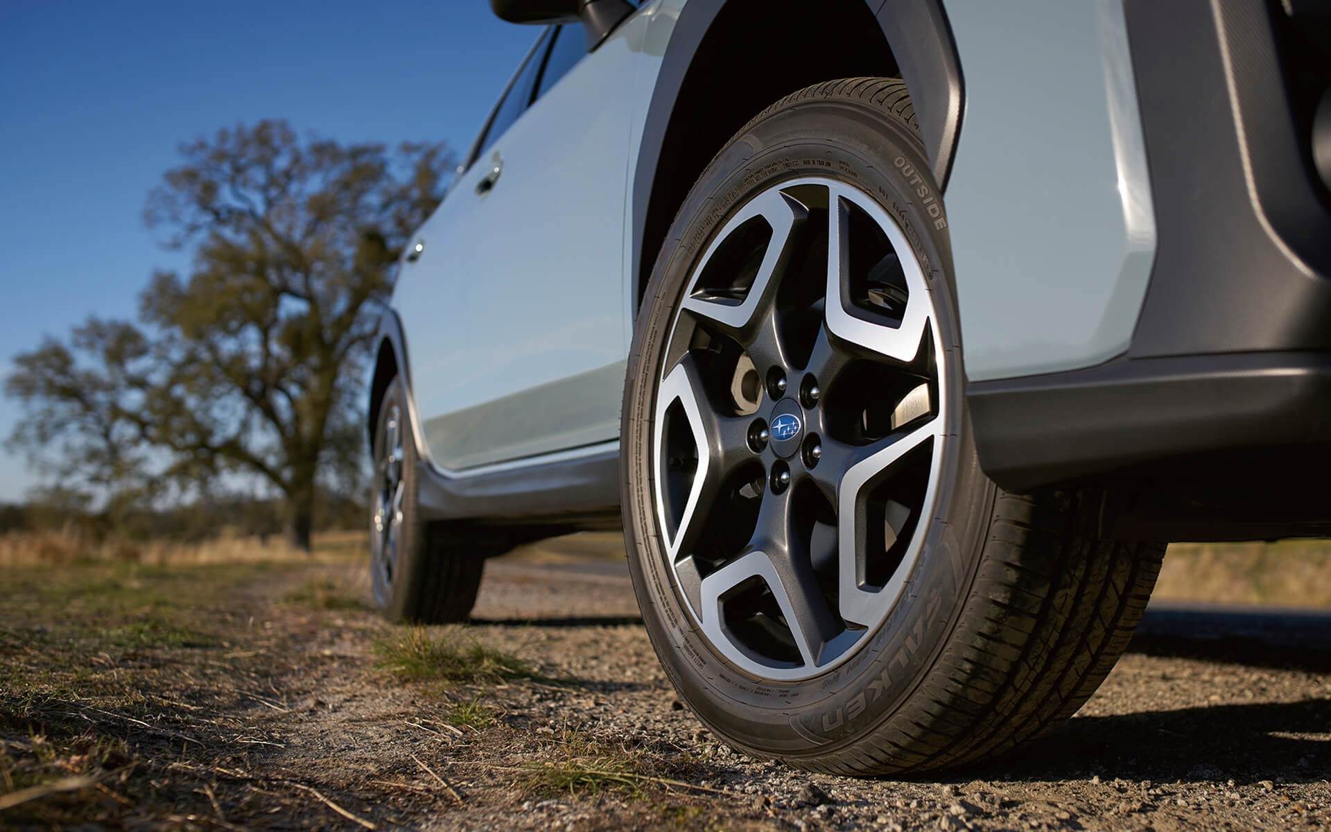 Subaru Crosstrek: Available 18-inch alloy wheels
