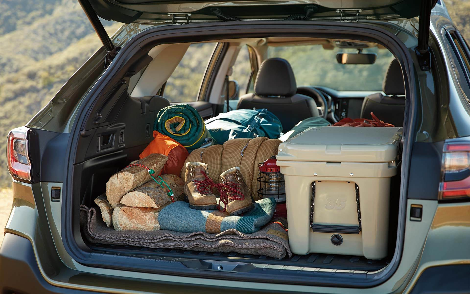 Subaru Image: Spacious cargo area with up to 75.7 cu. ft. of cargo volume