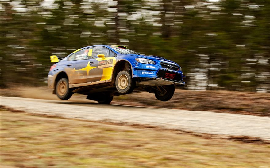 Subaru Motorsports USA prepares for 100 Acre Wood