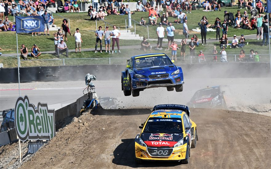 Despite Scott Speed Injury, Subaru Perseveres at Nitro World Games