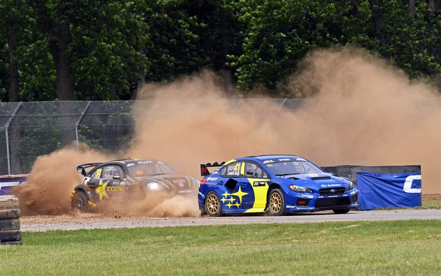 Subaru and Scott Speed Take Rallycross Win at Mid-Ohio