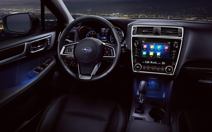 Image result for 2018 SUbaru Legacy interior