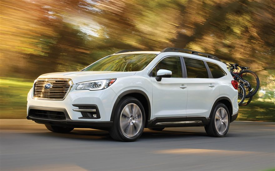 all new 2019 subaru ascent 3 row suv subaru