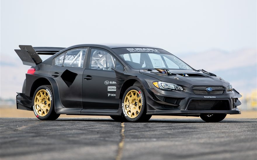 Subaru Reveals the Wildest WRX STI Ever - Travis Pastrana's Gymkhana STI