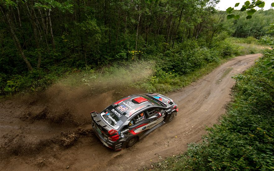 SRTUSA #199 Takes a Commanding Lead on Day 1 at Ojibwe