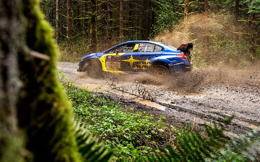 Subaru and Travis Pastrana Capture Third Consecutive Rally Win to Open 2021 Season