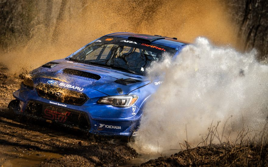 Subaru and Travis Pastrana Take Second Consecutive Win at 100 Acre Wood