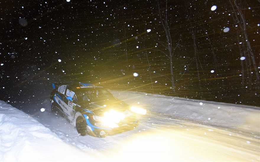 SRTUSA 1-2 at Rallye Perce-Neige
