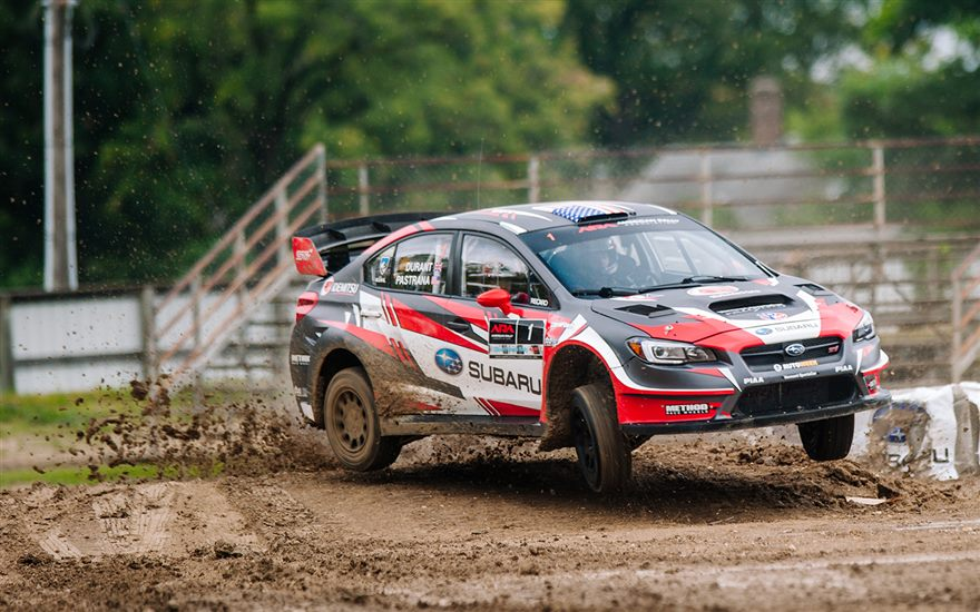 Higgins and Drew in the Lead at Ojibwe