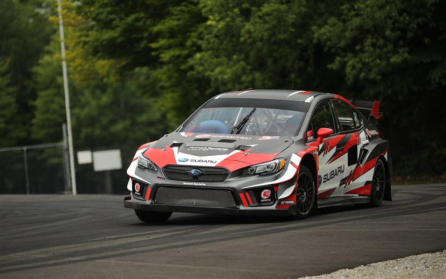 Jacques Villeneuve to Race a Subaru WRX STI at GP3R in Americas Rallycross