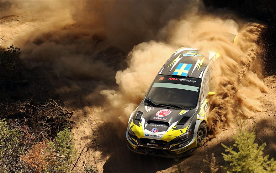 Patrik Sandell Wins at Idaho Rally International
