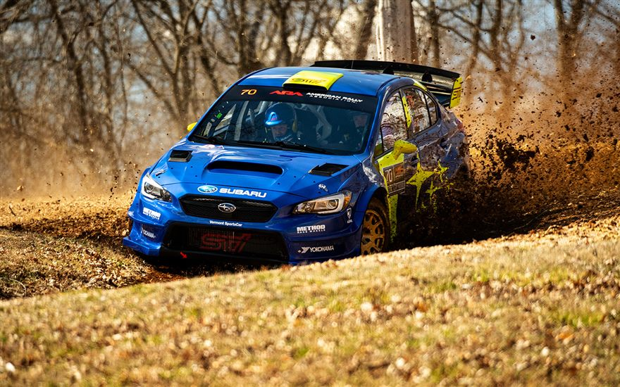 Higgins & Drew Lead 100 Acre Wood – Solberg & Johnston Third