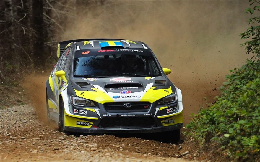 SRTUSA prepares for The Olympus Rally