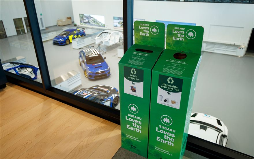 Subaru Motorsports USA Partners with TerraCycle to Reduce Waste at Rally Events