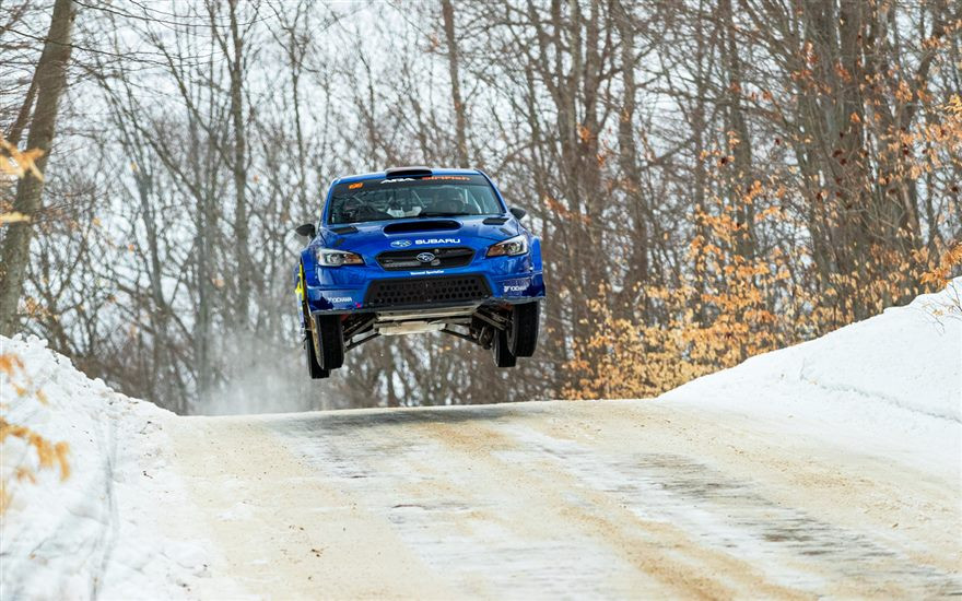 Subaru Takes 1-2 Finish at Sno*Drift to Open 2021 Rally Season