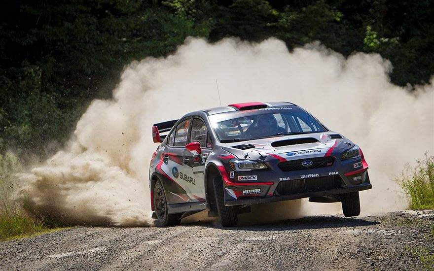 SRTUSA Ready for New England Forest Rally