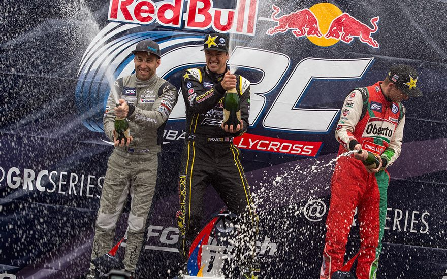 Atkinson on the Podium at GRC Seattle!