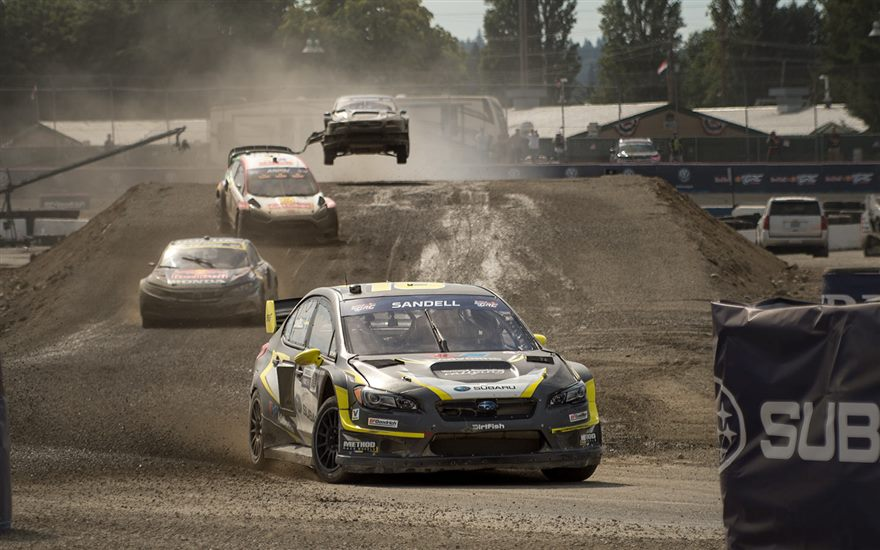 Sandell Secures Podium Finish at GRC Seattle – Round II
