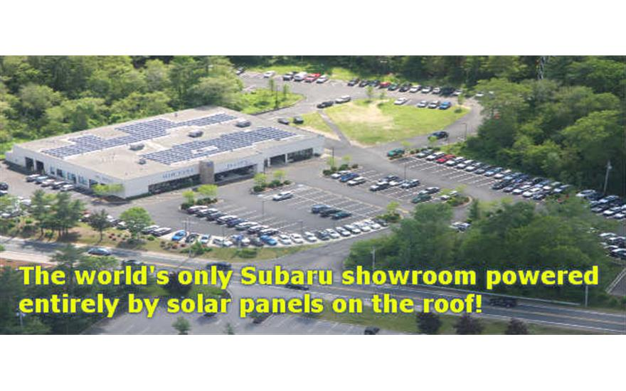Planet Subaru awarded Energy Star Small Business Award