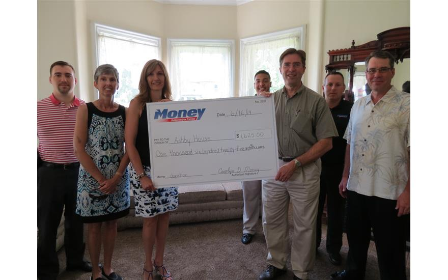Money Subaru Helps Support The Ashby House