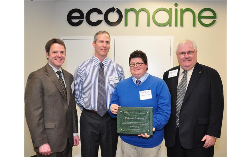 Patriot Subaru presented with the eco-excellence award
