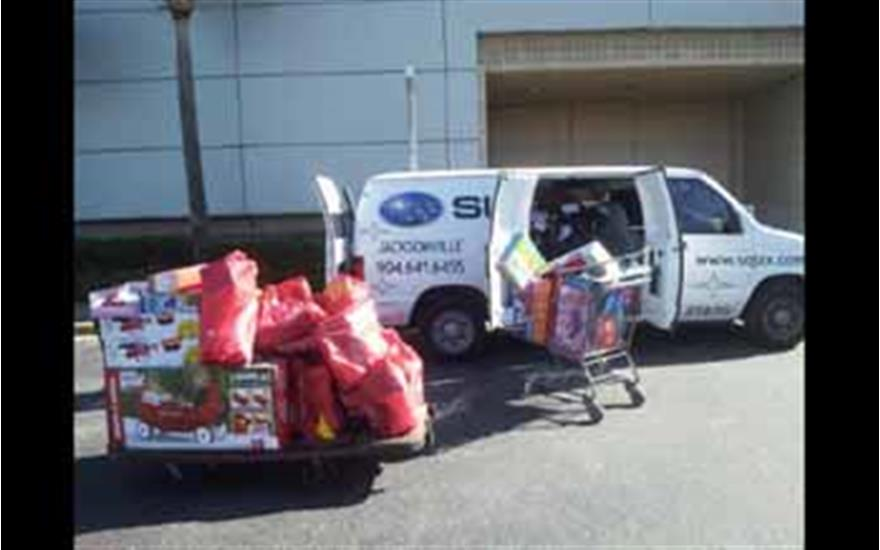 More than 5,000 toys donated thanks to Children's Christmas Party of Jacksonville