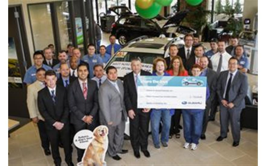 West Houston Subaru selects Citizens for Animal Protection to be their Hometown charity