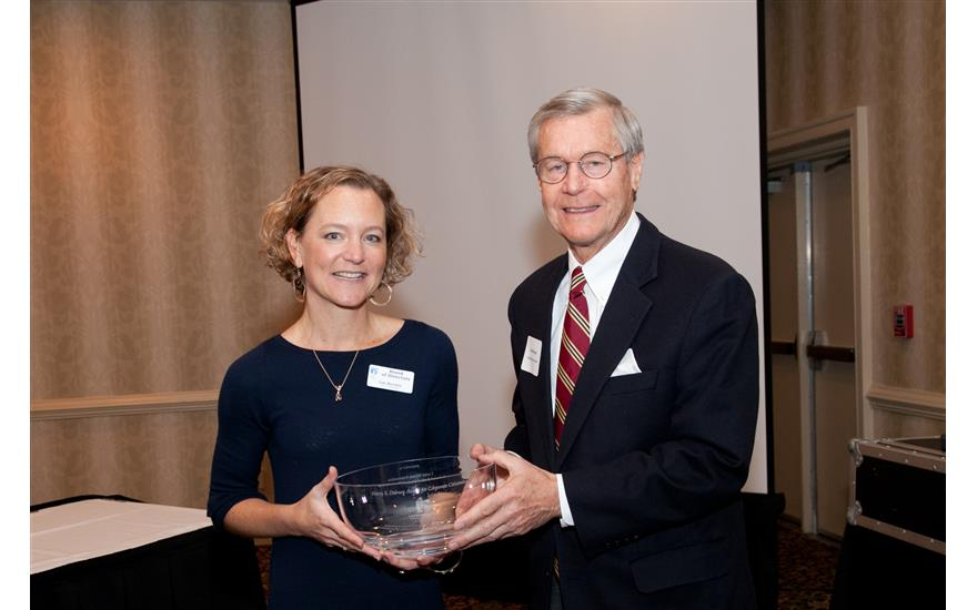 Recipient of Hovey S. Dabney Award for Corporate Citizenship
