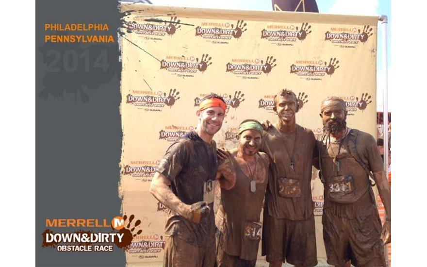Fred Beans Subaru Employee Participates in Merrell Down and Dirty Mud Obstacle Course Event