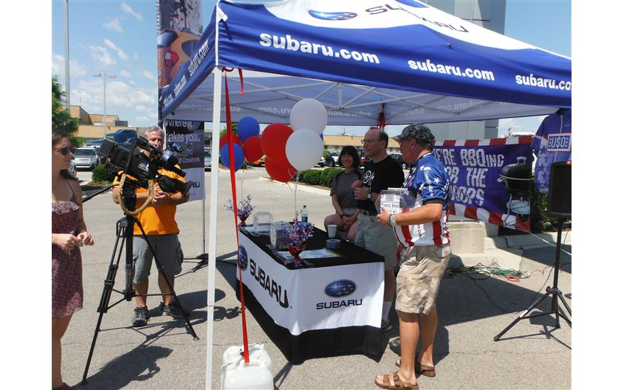 Evanston Subaru Hosts USO of Illinois