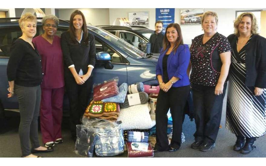Premier Subaru Supports  Meals on Wheels Program of New Opportunities Inc.