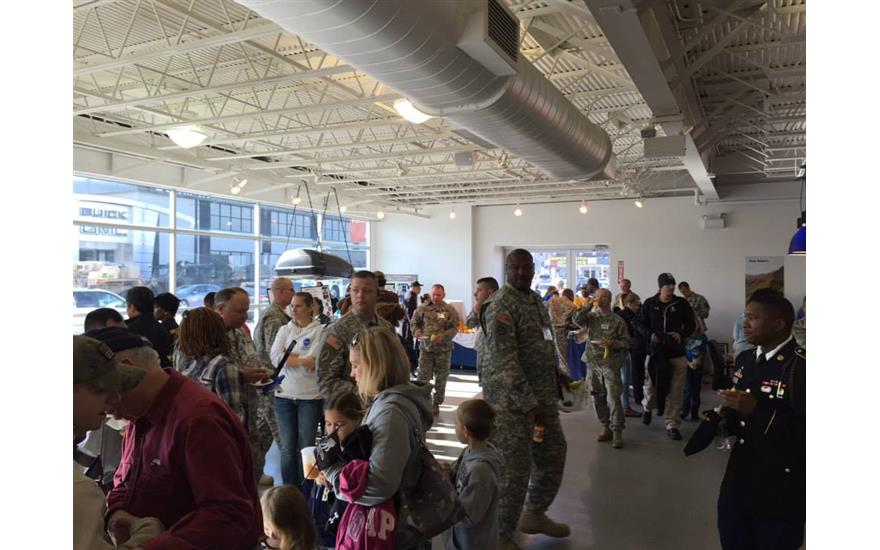 Downtown Subaru Hosts a Veterans Day Event