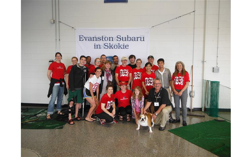 Evanston Subaru Hosts